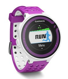 Garmin Forerunner 220: Equipped with GPS to track your route and vibration to let you know when you're running off pace