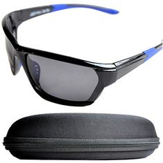 UK Golf Gear - Sports Sunglasses Polarized for Men and Women with hard Case for Cycling, Running, Fishing, Climbing, Golf, Skiing, Mountaineering, Hiking or other Outdoor Activities from Mini Brille Visit https://store.snowsportsproducts.com for endorsed products with big discounts.