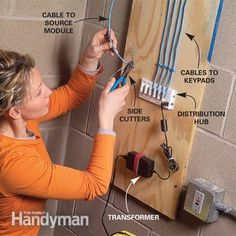 Home electrical wiring, Electrical wiring and Lights on