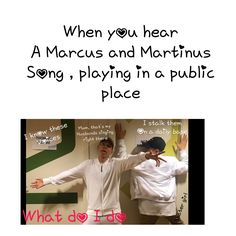 I do this and i sing
