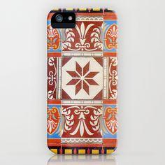 Ancient tile  4 iPhone & iPod Case