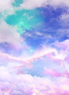Nubes coloridas