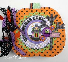 Papered Cottage by Shellye McDaniel: Halloween Parade Cover