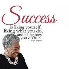 Liking yourself...where success begins. #freedomofchoice #success #motivation #quotes #a3dlife #driven