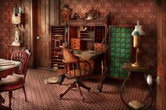 Doctor - Desk - The Physicians Office  Photograph by Mike Savad on fineartamerica.com