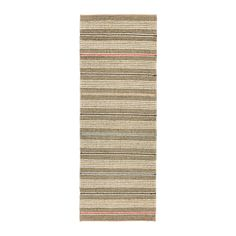 SODERUP Rug, flatwoven IKEA Seagrass is a durable, recyclable natural material that insulates and dampens sound.
