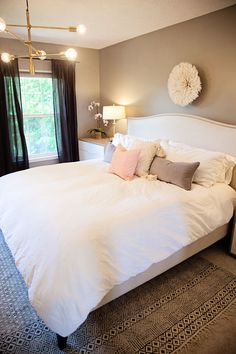 home tour: my master bedroom with Havenly! (The Good Life For Less)