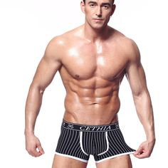 2017 Fashion Brand Cotton Underpant Cueca Mens Boxers Shorts Sexy Underwear Men High Quality Gay Underwear Man Underwear Boxer