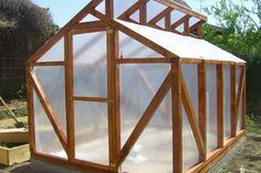 """Build a Sturdy Backyard Greenhouse Homesteading - The Homestead Survival .Com """"Please Share This Pin"""""""