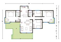House Plans, Floor Plans, Layout, House Design, How To Plan, Architecture, 1, Interior, Room