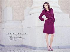 Sentaler Maroon Trench Coat Fall 2012 #fashion #fall #2012