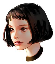 Mathilda from Summer Brown (niece) Digital Portrait, Portrait Art, The Professional Movie, Mathilda Lando, Illustrations And Posters, Cool Drawings, Art Sketches, Art Girl, Painting & Drawing