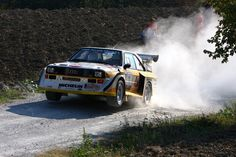 Audi Quattro S1 rally car - Group B