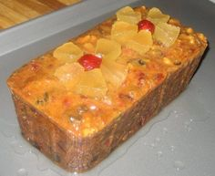 """Blue Ribbon Fruitcake just may turn fruit cake """"haters"""" to fruitcake lovers. This recipe is from Elise who makes them annually for our church bazaar. Sweet Recipes, Cake Recipes, Dessert Recipes, Best Fruit Cake Recipe, Southern Recipes, Bread Recipes, White Fruitcake Recipe, Best Fruitcake, Fruitcake Cookies"""