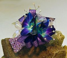 Prom Corsages Ideas | Prom flowers: Prom on the Rocks- Orchids
