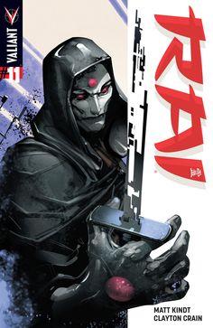 Rai #11 Cover A by Clayton Crain
