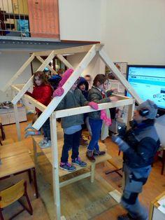 De Bonckert | Huizen bouwen in groep 4. Mooie activiteiten binnen ons Jeelo project