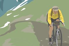 Bike Illustration, Cycling, Bicycle, Illustrations, Fictional Characters, Art, Art Background, Biking, Bike