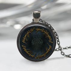 Lord Of The Rings Inspired Necklace Gondor by YellowBrkRdCoasters