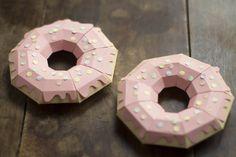DIY Paper Donuts by Make My Lemonade Blog