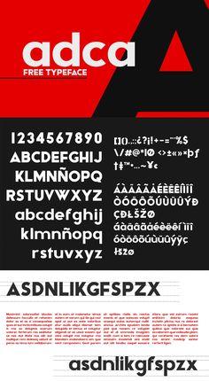 Adca-Sans-Free-Typeface