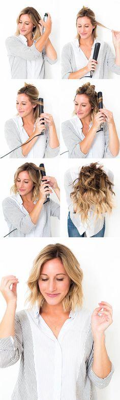 """Cómo hacer """"Ondas Messy"""" en el cabello   Vorana Blog #VoranaTips #Cabello #Hair"""