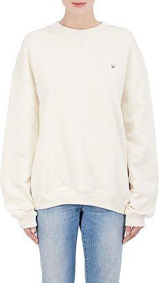 Shop Now - >  https://api.shopstyle.com/action/apiVisitRetailer?id=608244166&pid=uid6996-25233114-59 Acne Studios Women's Cotton Fleece Oversized Sweatshirt  ...