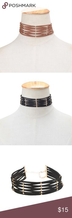 Multilayer Choker Bohemian Multilayer Choker. Trendy ! Only black color. Jewelry Necklaces