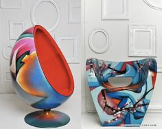 Best Chairs C O Home Furnish Rocking Chair Target 25+ Graffiti Furniture Ideas On Pinterest | Room, Designs And ...