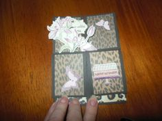 Fran's Craft Place: Box card tutorial