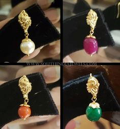 Gold Jhumka Earrings, Gold Earrings Designs, Gold Designs, Necklace Designs, Crystal Earrings, Ring Designs, Antique Jewellery Designs, Gold Jewellery Design, Gold Jewelry Simple