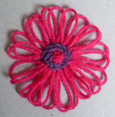 Preciosa flor Tutorial ❥Teresa Restegui http://www.pinterest.com/teretegui/❥
