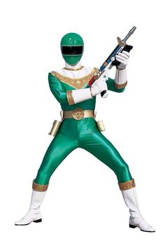 Power Rangers Zeo- Green Ranger
