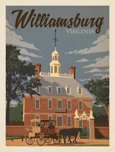 Anderson Design Group – American Travel – Williamsburg, VA