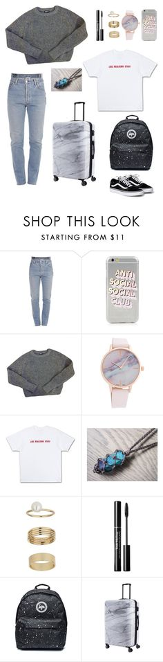"""""""Untitled #114"""" by zofapieretti on Polyvore featuring Vetements, American Apparel, Miss Selfridge and CalPak"""
