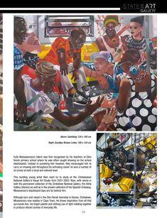 Kufa Makwavarara in the South African Artist Magazine | Nov 2020