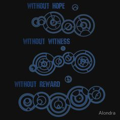 Without Hope, Without Witness, Without Reward - Doctor Who