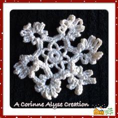 Crocheted Snowflake
