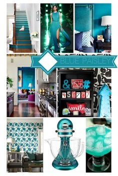 Mood Board Monday: Blue Paisley http://blog.hgtv.com/design/2015/01/26/mood-board-monday-blue-paisley/   http://idealshedplans.com/backyard-storage-sheds/
