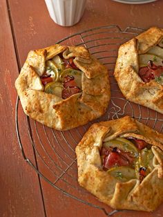 We love this hearty galette made with smoky gouda, green apples, and ham. More baking ideas: http://www.bhg.com/recipes/desserts/other-desserts/fall-baking-easy-recipes-sensational-results/?socsrc=bhgpin012913applegalettes=16