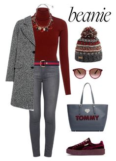 """#BEANIE"" by rita-tahchi ❤ liked on Polyvore featuring Joe Browns, Paige Denim, A.L.C., Gucci, Erica Lyons, Carven, Puma, Tommy Hilfiger and Oliver Peoples"