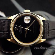Rolex Datejust Onyx ♛