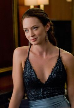 Emily Blunt's first dress in The Adjustment Bureau