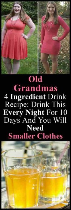 Old Grandmas 4 Ingredient Drink Recipe: Drink This Every Night For 10 Days And You Will Need Smaller Clothes – Do you really want to detox your body from toxic substances and lose some fat? If so then this apple cider vinegar detox drink is for you. Full Body Detox, Detox Your Body, Vinegar Detox Drink, Bebidas Detox, Diet Drinks, Fruit Drinks, Weight Loss Drinks, Health Diet, Health Care