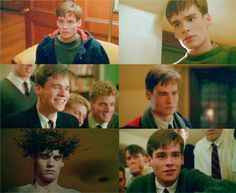 Dead Poets society Neil Perry Dead Poets Society Quotes, Der Club, Robert Sean Leonard, Oh Captain My Captain, 1980s Films, Dane Dehaan, Character Aesthetic, Movies Showing, Good Movies
