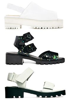 Clompy sandals by Wood Wood, Miista and Cheap Monday in the ASOS Summer Sale!