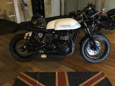 TRIUMPH Thruxton 900 Ace-Café Edition Whitestone Motorcycles AG Bellach Occasions