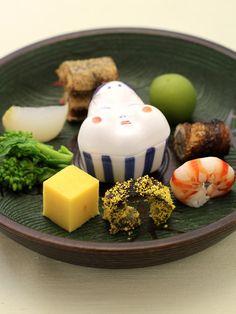 Japanese Dishes, Japanese Sweets, Japanese Food, Caprese Salad Skewers, A Food, Food And Drink, Japanese Street Food, Nihon, Food Plating