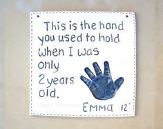 Reserved square tile shape special orderBaby by TheBabyHandprintCo