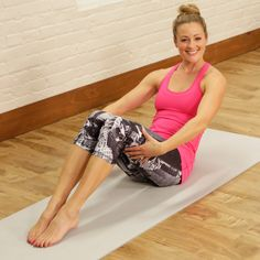 Your Abs Will Burn After This Barre Workout- soooo this is basically the 20 minute pilates workout I've been doing for years...